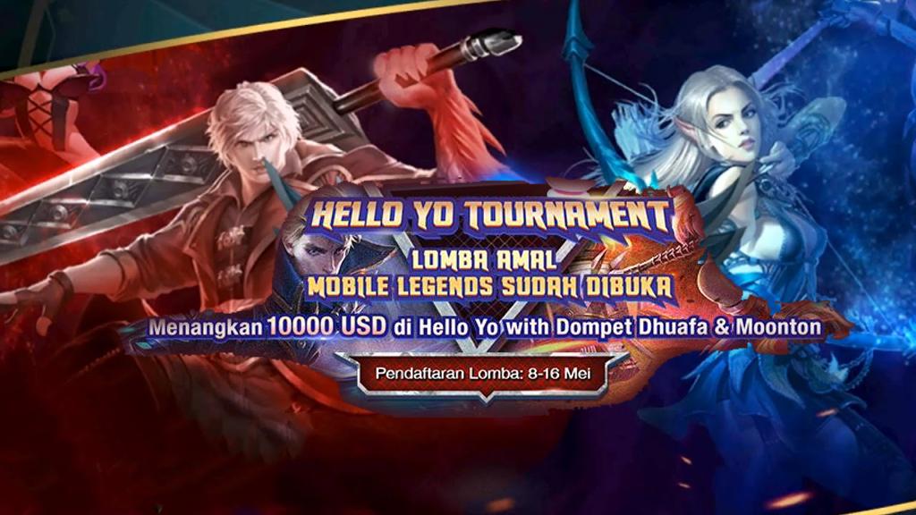 'Hello Yo Tournament Lomba Amal Mobile Legends