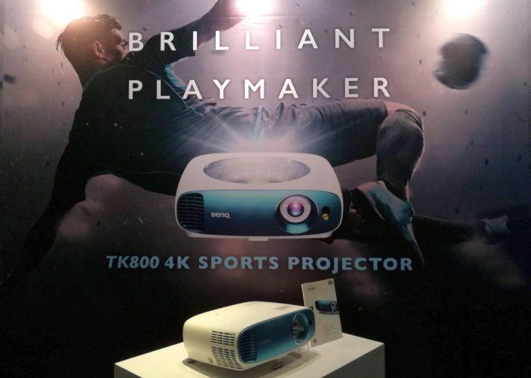 Agar Nobar Piala Dunia Makin Seru, Benq Hadirkan 4K Home Theater Projector TK800