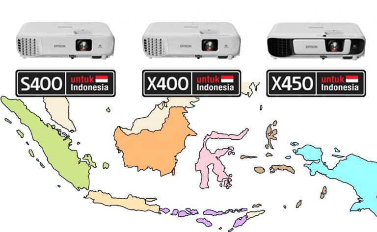 EPSON EB-S400/EB-X400/EB-X450: Proyektor Sarat Fitur untuk Dunia Pendidikan Indonesia