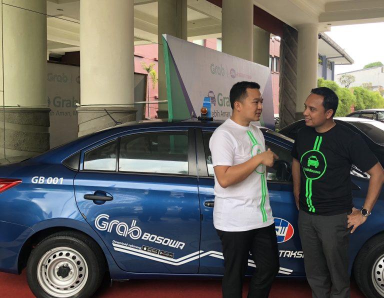 Khusus di Makassar, Grab Jalin Kerjasama dengan Bosowa Taksi Luncurkan 'GrabBosowa'