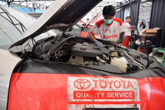 Mudik 2018, Toyota Jaga Kendaraan Pemudik dengan Menyediakan 307 Titik Pelayanan