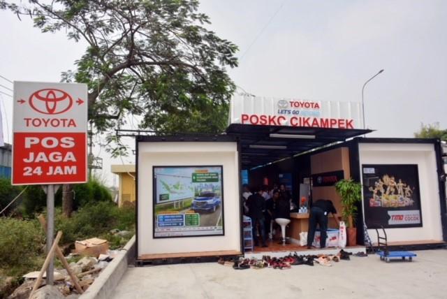 Pemudik Bisa Manfaatkan Layanan Ekstra di Posko dan Bengkel Siaga Toyota 24 jam