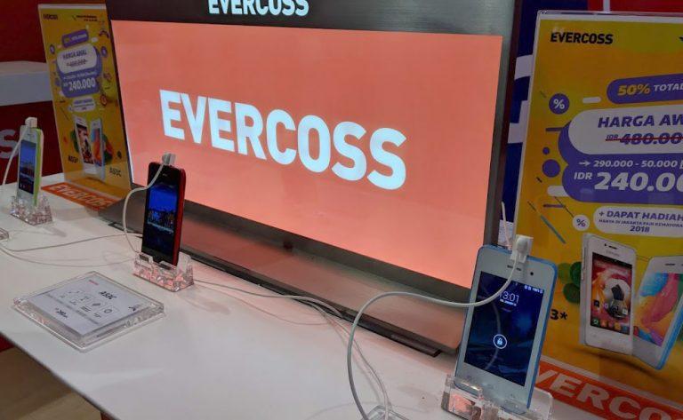 Tampilkan Berbagai Smartphone di JFK 2018, Evercoss Xtream Miliki Banyak Peminat