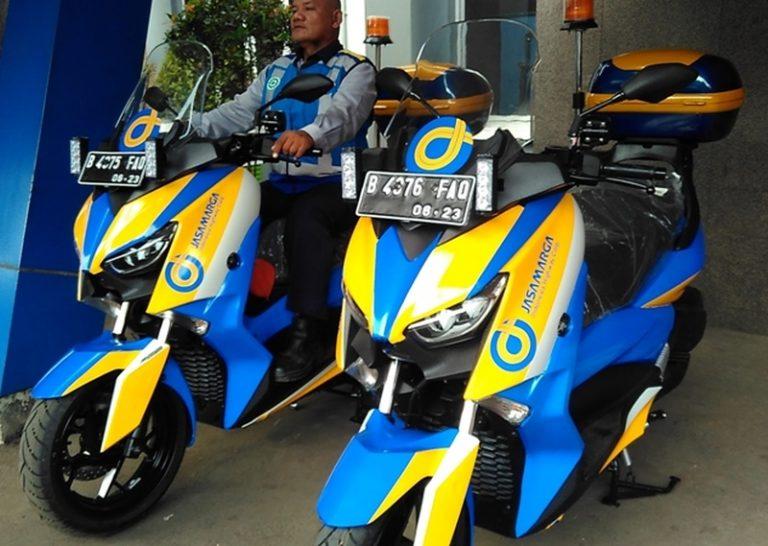 Lebih Gesit dari Mobil, Jasa Marga Siagakan Dua Motor Kancil Pantau Contraflow Mudik Lebaran 2018