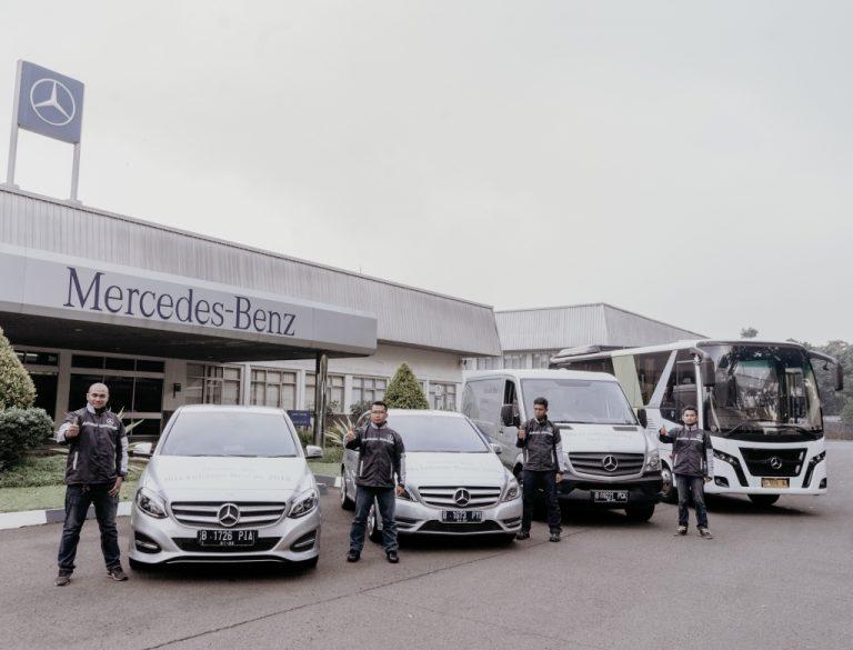 4 Service Points dan 6 Dealer Siap Kawal Kondisi Bus Mercedes-Benz Selama Mudik Lebaran 2018