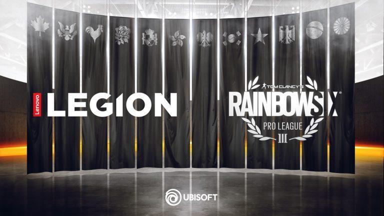 Kolaborasi Lenovo Legion™ dengan Ubisoft Sponsori Liga Pro Tom Clancy's Rainbow Six Siege