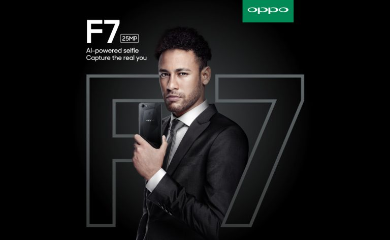 Neymar Jr Jadi 'The New Selfie Expert' Baru OPPO