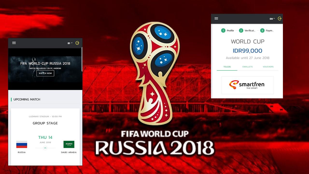 Mudah Dan Murah Nonton Live Streaming Piala Dunia 2018 Smartfren