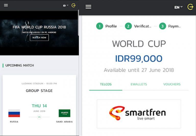 Mudah dan Murah Nonton Live Streaming Piala Dunia 2018? Smartfren Tawarkan Mulai Rp 40 Ribu