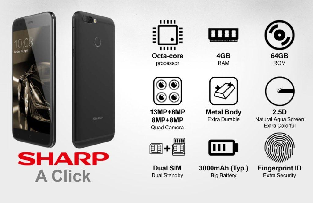 Sharp A click