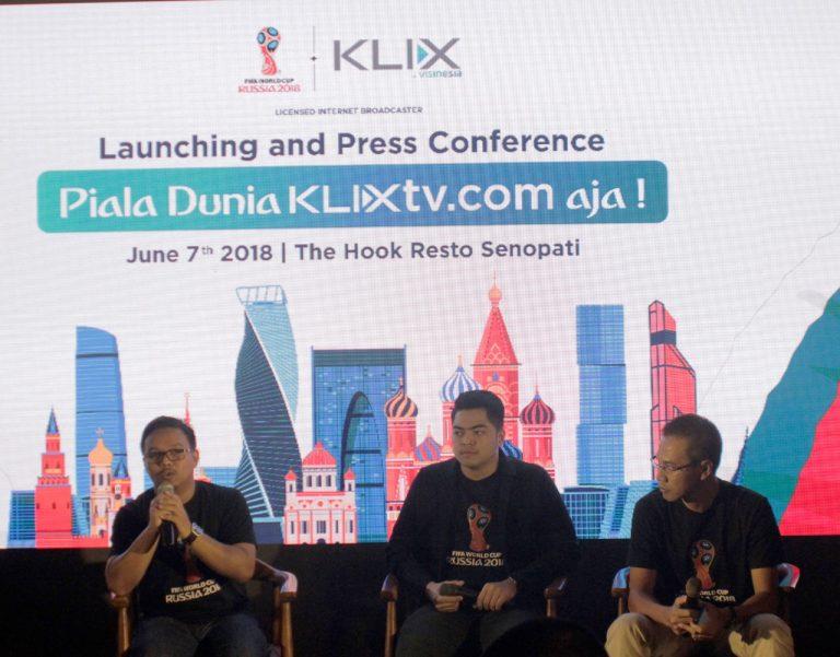 Ga Perlu Bingung Nonton Piala Dunia Klix Tv Hadirkan Live Streaming