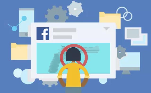 Facebook Akan Sembunyikan Iklan Aksesori Senjata Api