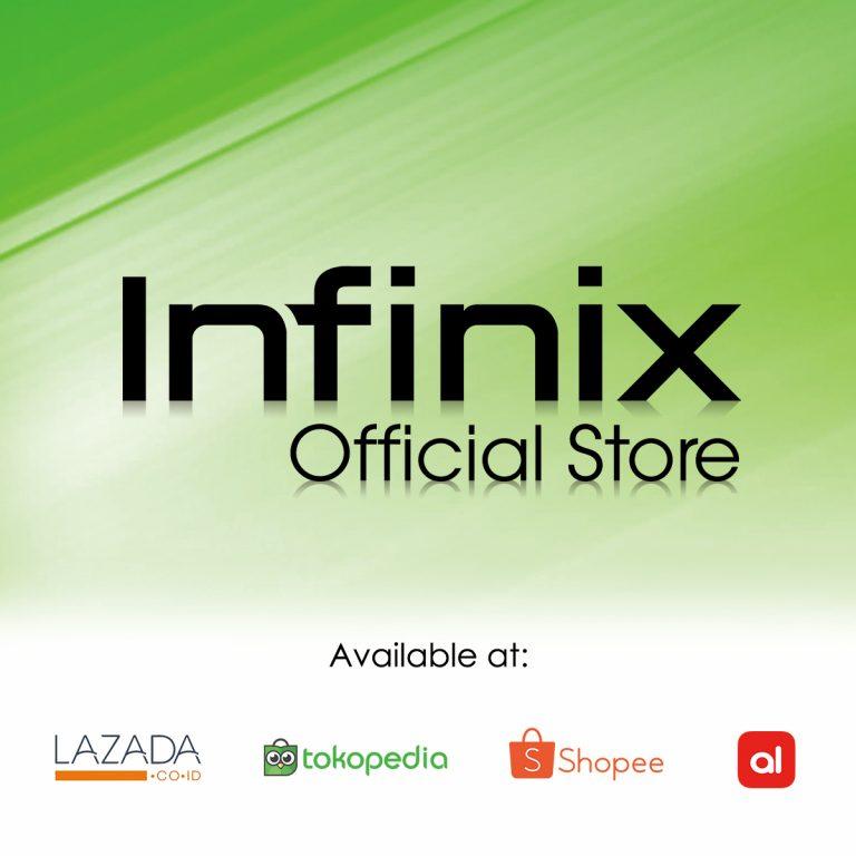 Infinix Buka Toko Resmi di Tokopedia, AkuLaku, dan Shopee