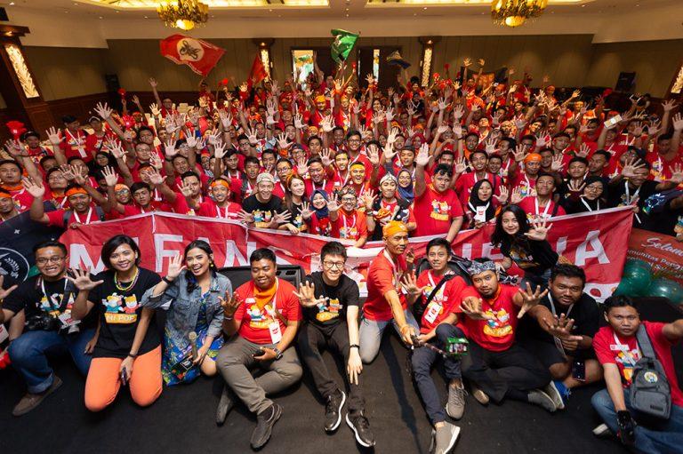 Mi Pop Kedua Digelar di Kota Yogyakarta, Dihadiri oleh ratusan Mi Fans dari Berbagai Daerah