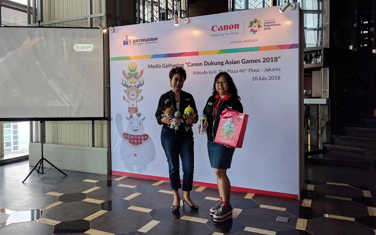 Sediakan Berbagai Promo, Canon dan Datascrip Siap Dukung Penuh Asian Games 2018