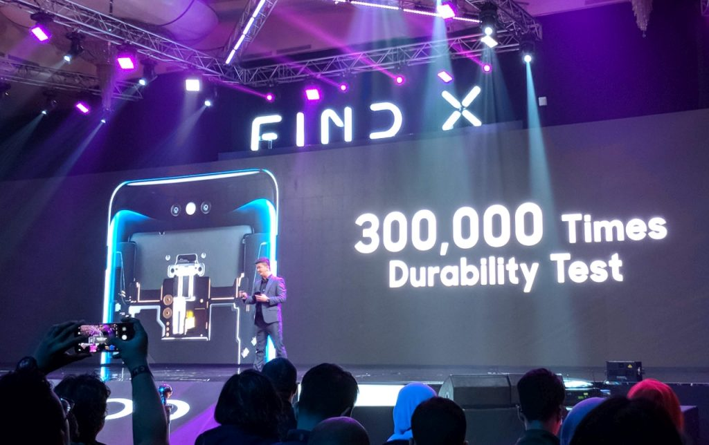 Find X launching