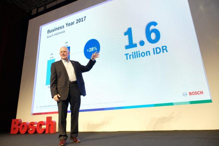 Sukses di Segala Lini Industri, Bosch Catat Pertumbuhan Dua Digit di Indonesia