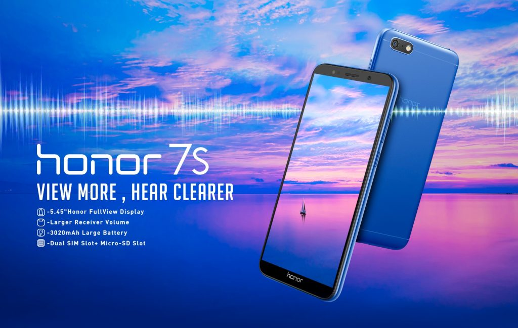 Honor 7S Product