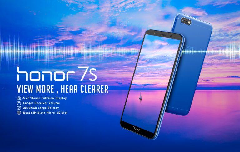 Honor 7S Meluncur Resmi di Indonesia, Dijual Flash Sale pada 11 Juli 2018