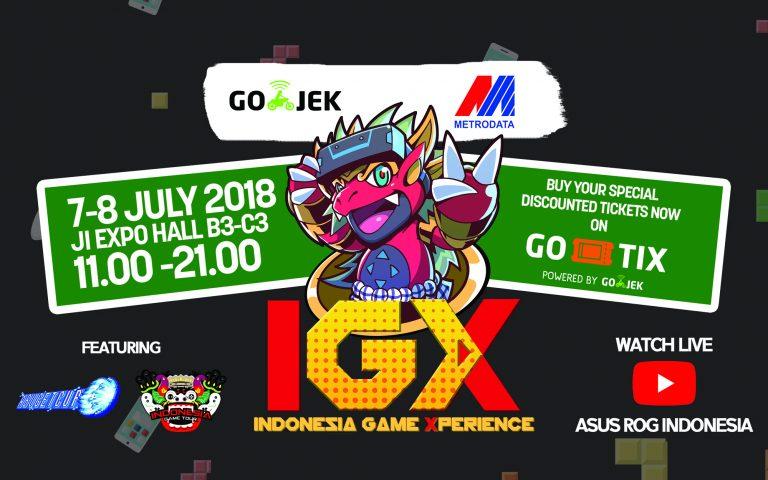 Bersama Metrodata dan Go-Jek, Asus Gelar Indonesia Gaming Xperience