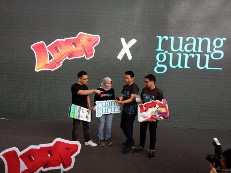 Telkomsel Perkenalkan Paket LOOP Spesial untuk Ruangguru