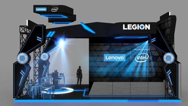 Di Indonesia Game Xperience 2018, Lenovo Gelar Lelang untuk Produk Legion