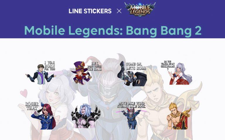 LINE Rilis Stiker 'Mobile Legends: Bang Bang 2', Ada Suaranya Lho