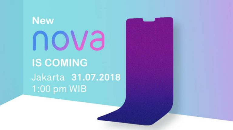 Siap-Siap! 31 Juli 2018 Huawei Akan Rilis Seri Nova Baru di Indonesia