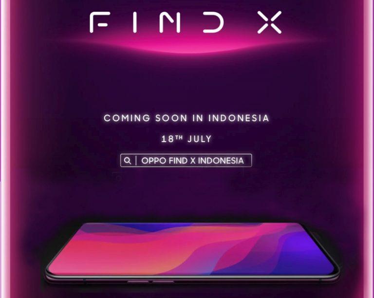 Find X akan Hadir 18 Juli 2018 di Indonesia. Mau Jual Berapa Oppo?