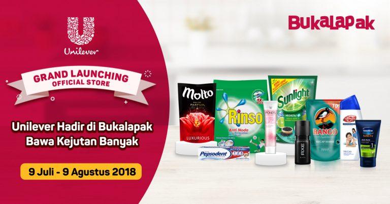 Official Store Unilever Indonesia Kini Hadir di Bukalapak