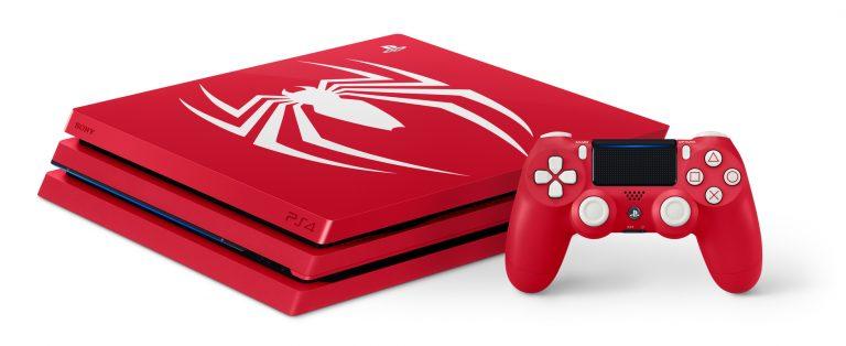 "Sambut Kehadiran Spider-Man, Sony Hadirkan PS4 Pro ""Amazing Red"""