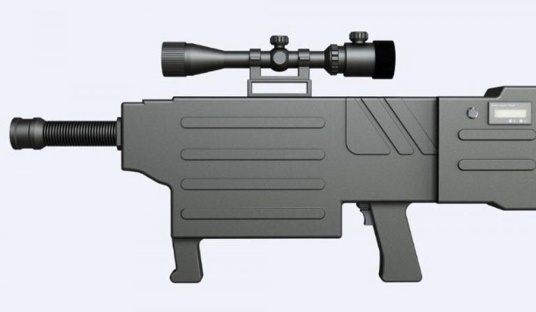 Hoax atau Bukan? Senapan ZKZM-500 yang Dijuluki 'AK-47 Laser' dari Cina