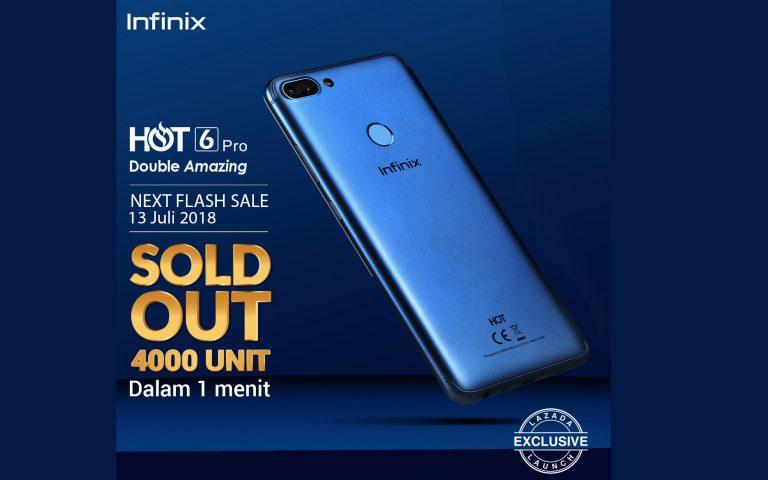 Sukses Gelar Flash Sale, Infinix Nyatakan Tidak Ada Produk Ghoib untuk Hot 6 Pro