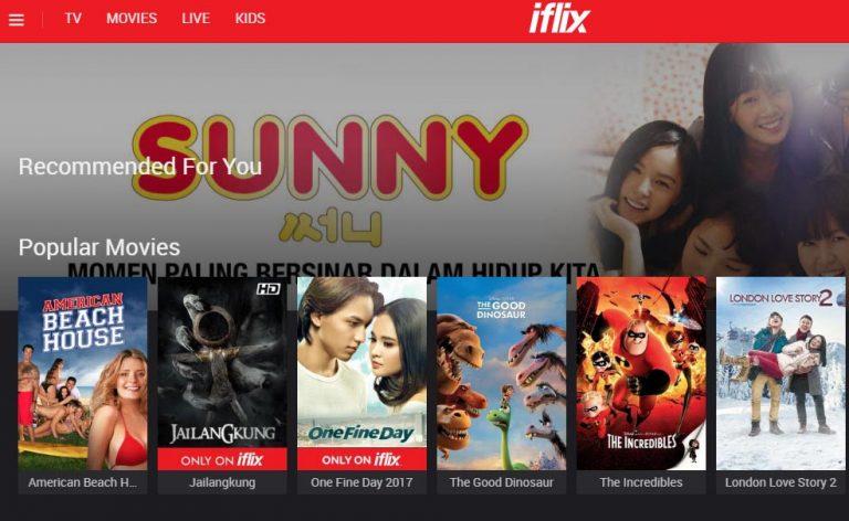 Iflix Dapat Penghargaaan Sebagai Layanan Video OTT Terbaik di Ajang Telecom Asia Awards