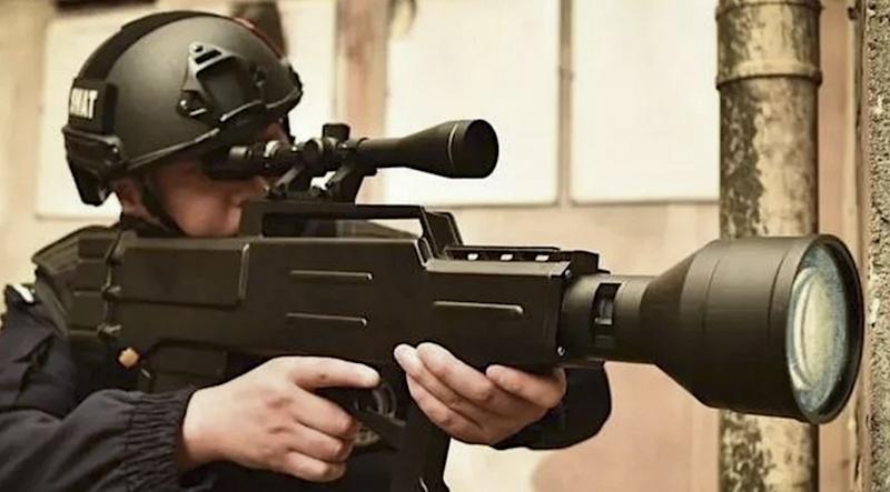 senapan laser ZKZM-500