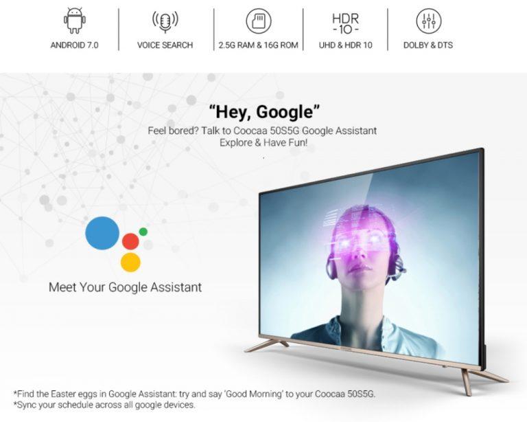 Perdana di Lazada, TV LED Coocaa Sukses Terjual 5.000 Unit