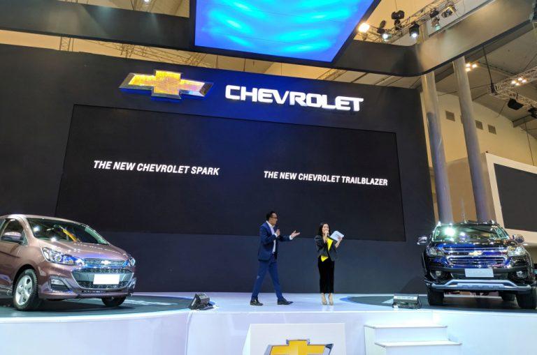 Berkat Facelift, Chevrolet New Trailblazer dan Spark Tampil Lebih Segar di GIIAS 2018