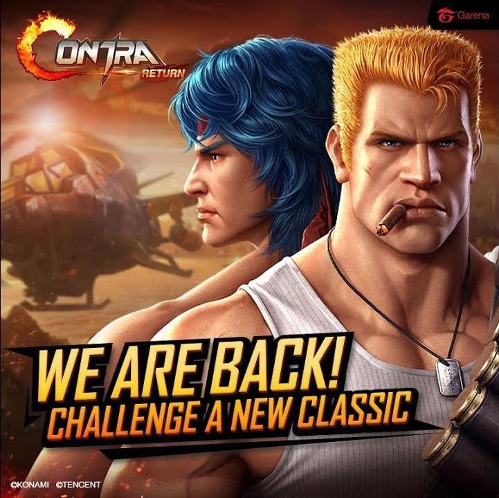 """Sinergi Garena-Tencent-Konami Persembahkan Game Action """"Contra: Return"""""""