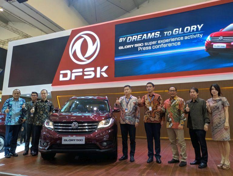 Pikat Konsumen di GIIAS 2018, DFSK Tawarkan Paket 'Menggiurkan' City SUV Glory 580