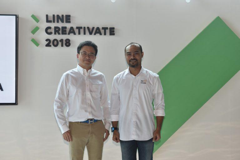 LINE CREATIVATE 'Bangga Indonesia' 2018 Lebih 'Ramai'