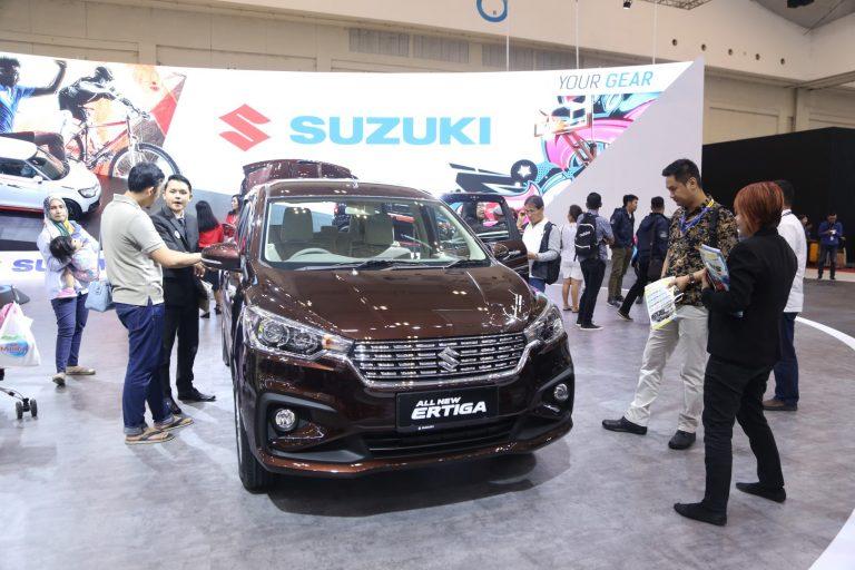 Suzuki Berhasil Jual 2.223 Unit Kendaraan di GIIAS 2018