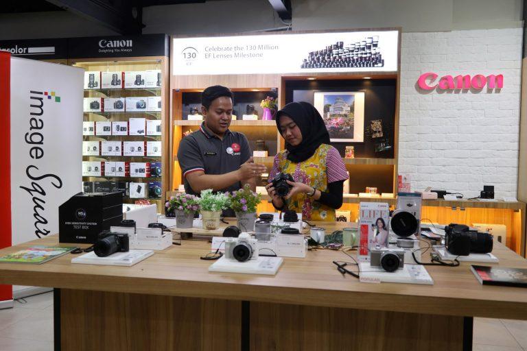 Tambah Satu Lagi, Bandung Kini Miliki Tiga Gerai Canon Image Square