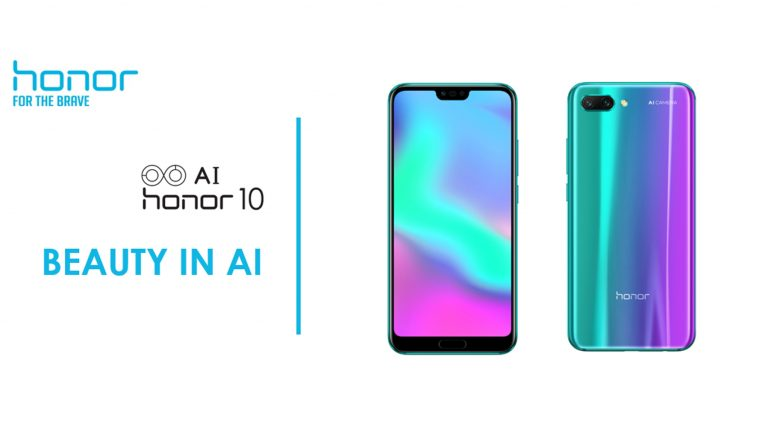 Honor 10 Hadir di Indonesia, Dilengkapi Kamera AI dan Sidik Jari di Bawah Layar