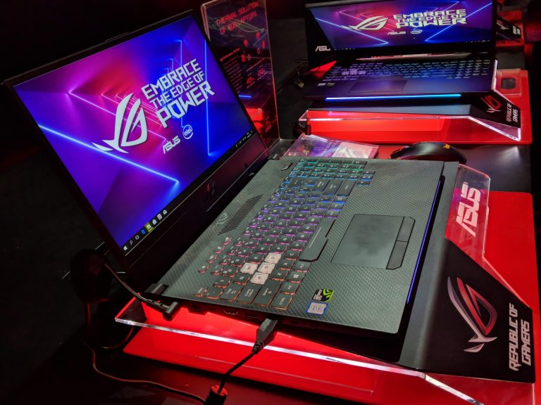 Manjakan Gamers, Asus Luncurkan Notebook ROG Strix HERO II dan SCAR II