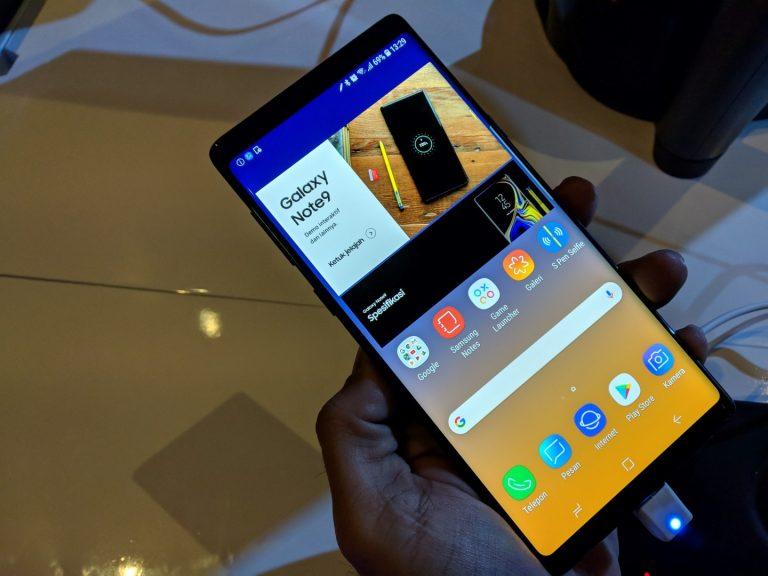 Samsung Resmikan Kehadiran Galaxy Note 9 di Indonesia