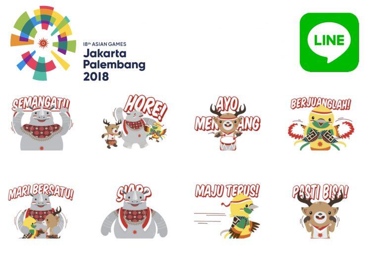 Semarakkan HUT RI dan Asian Games 2018, LINE Indonesia Keluarkan Stiker Khusus