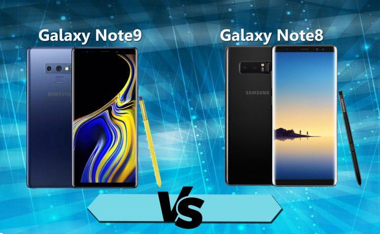 Melihat Perbedaan Galaxy Note 9 dan Galaxy Note 8