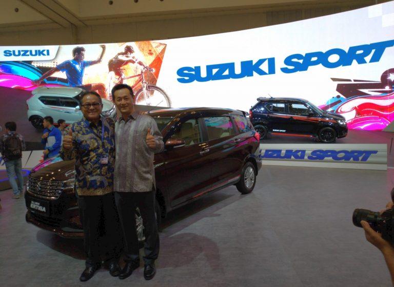Pamer Rangkaian Mobil Bertema 'Urban Sporty Gear', Ini Pesan Suzuki di GIIAS 2018