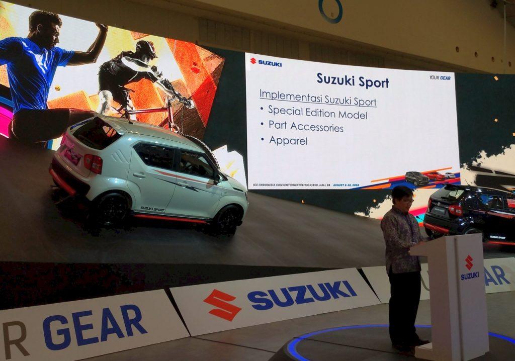 Suzuki Urban Sporty Gear - GIIAS 2018
