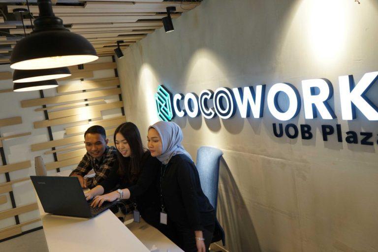 Topang Sektor UMKM dan Startup, COCOWORK Buka Ruang Kerja Bersama di UOB Plaza